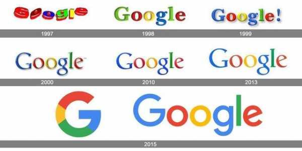 4a2dbfbaeb92ee7 История логотипа Google начинается в 1997 году, когда один из основателей  компании Сергей Брин разработал его дизайн в графической программе GIMP.